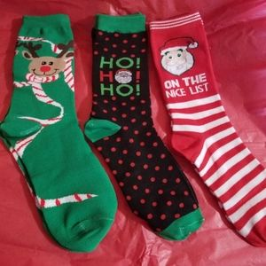 ☃️Christmas/Holiday Socks - Assorted 🎄